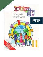 11 GRADO - CAMINOS DE FE - EL PROYECTO DE VIDA SOCIAL.pdf