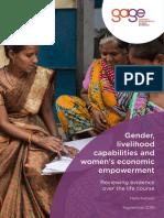 Kabeer Gender Livelihood Capabilities