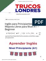 Guía Aprender Inglés Uno Mismo