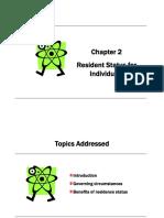 CHAPTER2 Residence Status