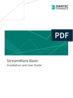 StreamWare Basic Installation and User Guide v6.00
