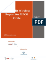 TRAI Audit PMR (Performance Monitoring Report) Report Sample 2
