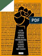 A Luta Popular Urbana Por Seus Protagonistas - Direito Às Cidades, Direitos Nas Cidades