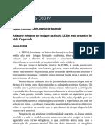 Relatório Final ECS IV - Antônio José Corvelo de Andrade
