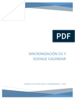 SincroNizacion Calendar