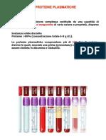8 Proteine Plasmatiche