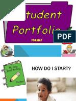 Portfolio Format  Spring 2018.ppt