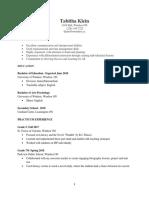 resume-teaching