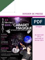 DP_quiberon Fait Son Cirque2019 - Cabaret