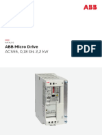 Katalog - ABB Micro Drive ACS55