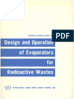 Design and Operation of Evaporators