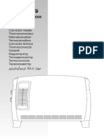 Manual de Uso Calefactor Taurus