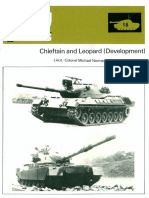 AFV Weapons Profile 18chieftain and Leopard Development