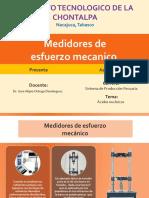 Medidores de Esfuerzo Mecanico