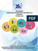 Pedoman Pilmapres Sarjana 2019