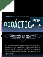DIDACTICA 1 diapositivas