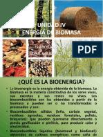 4. UNIDAD IV Energia de Biomasa