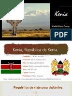 Presentación Kenia