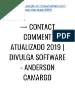 → Contact Comment 3.0 ATUALIZADO | SoftWare de Divulgação Em Massa de Blogs e Sites