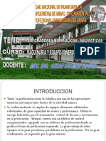 PERFORADORAS HIDRAULICAS - NEUMATICAS