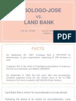 Crisologo vs Land Bnk