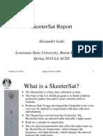 ledo skeeter sat report 02 21 18