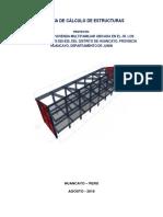 Calculo de Estructuras - Jr Comuneros