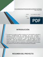 Analisis Economico de Proyecto