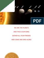 Canção de Planetas