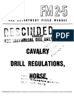 17652732 FM 25 Cavalry Drill Regulations Horse