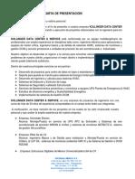 CARTA DE PRESENTACION Kollinger DataCenter & Services.pdf
