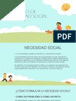 Proyecto de Necesidad Social