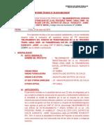 Informe Tecnico Loardo (Pavimentación)