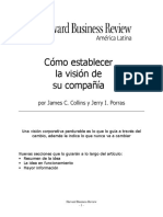 01 James C Collins & Jerry L Porras - Como establecer la vision de su compañía - HBR.pdf