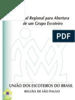 MANUAL BÁSICO GRUPO ESCOTEIRO - UEB SP