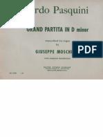 Pasquini-Moschetti Grand Partita Folia Organ