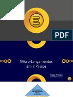 Micro Lançamento Semente bom começo