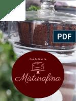 Misturafina - Menu