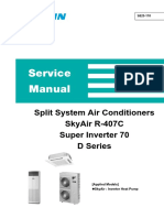 Split System Air Conditioners Daikin Inverter RZP-D