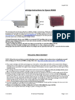 Epson R3000 Refill Cart Instructions