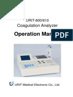 URIT-600、610 Operation Manual (12!04!05)