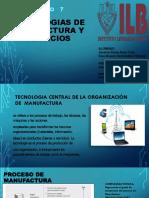 Capitulo 7- Tecnologias de Manufactura y Servicios