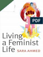 Sara Ahmed - Living a Feminist Life