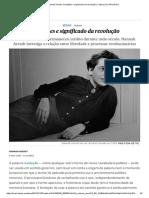 Hannah Arendt_ Condições e Significado Da Revolução _ Cultura _ EL PAÍS Brasil