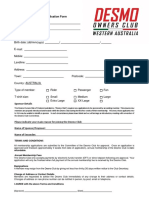 DOCWA Application Form