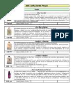 Mini Catálogo de Produtos