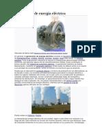 Generación de energía eléctrica y `proyectos