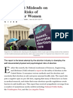 Abortion Safety Statistics_ Study Ignores Risks to Women _ National Review