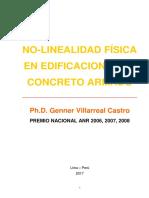 Libro No Linealidad Física en Edificaciones de Concreto Armado