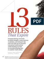 13 Rules That Expire